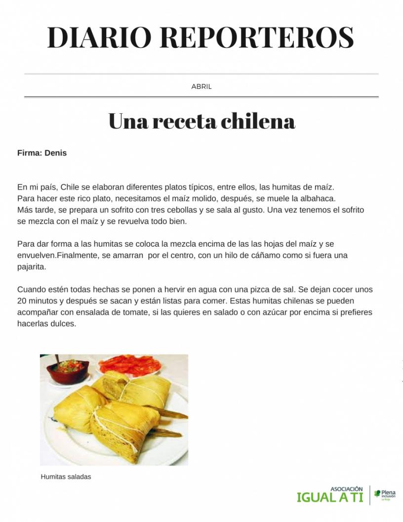 Diario reportero abril