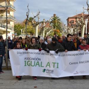 Marcha Día Internacional personas con discapacidad